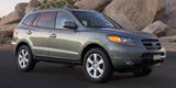 Research the 2009 Hyundai Santa Fe