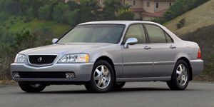 2002 Acura RL Reviews / Specs / Pictures