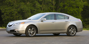 2009 Acura TL Reviews / Specs / Pictures