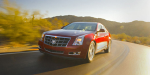 2008 Cadillac CTS Reviews / Specs / Pictures
