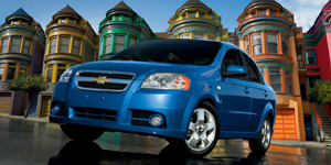 2008 Chevrolet Aveo Reviews / Specs / Pictures