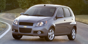 2009 Chevrolet Aveo Reviews / Specs / Pictures