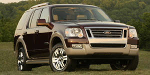 2008 Ford Explorer Reviews / Specs / Pictures
