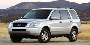 2003 Honda Pilot Reviews / Specs / Pictures