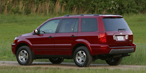 2004 Honda Pilot Reviews / Specs / Pictures