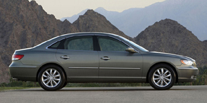 2008 Hyundai Azera Reviews / Specs / Pictures