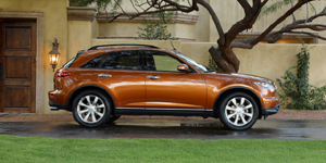 2004 Infiniti FX Reviews / Specs / Pictures