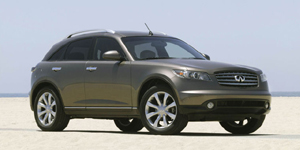 2005 Infiniti FX Reviews / Specs / Pictures