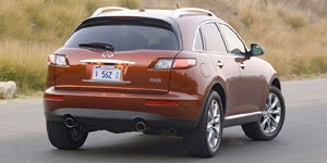2008 Infiniti FX Reviews / Specs / Pictures