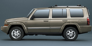 2008 Jeep Commander Reviews / Specs / Pictures