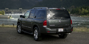 2008 Nissan Armada Reviews / Specs / Pictures