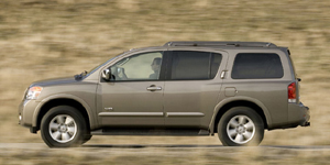 2009 Nissan Armada Reviews / Specs / Pictures