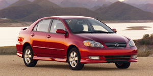 2003 Toyota Corolla Reviews / Specs / Pictures