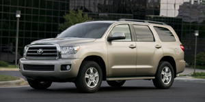 2008 Toyota Sequoia Reviews / Specs / Pictures