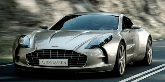 2009 Aston Martin One-77 Pictures