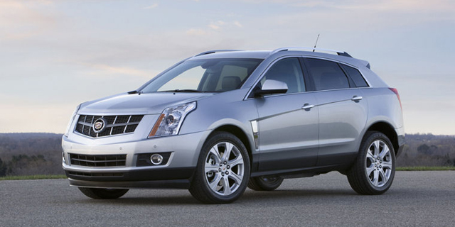 2010 Cadillac SRX Pictures