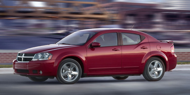 2010 Dodge Avenger Pictures
