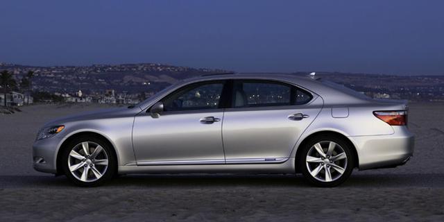 2009 Lexus Ls Pictures