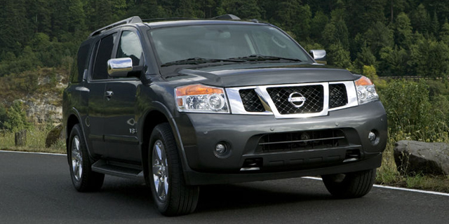 2010 Nissan Armada Pictures