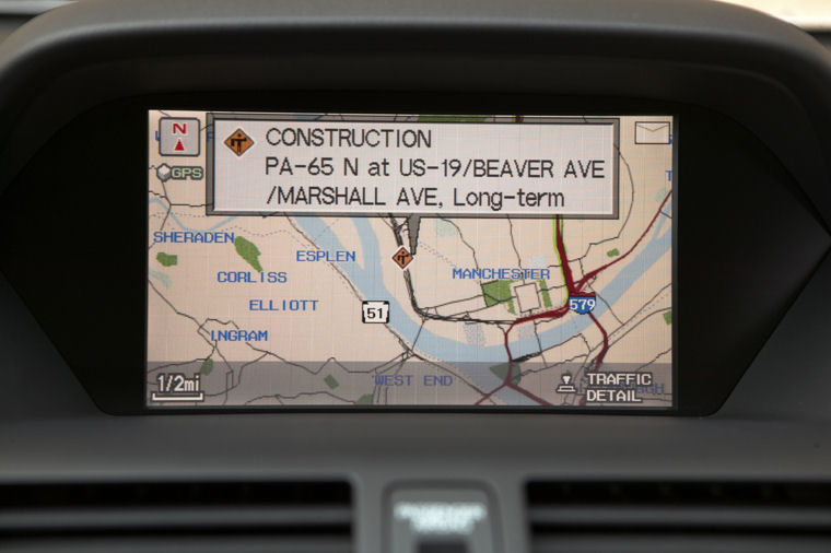 Acura MDX Navigation Screen Picture Pic Image - Acura mdx navigation