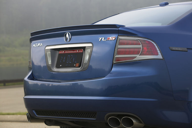 Acura TL TypeS Tail Light Picture Pic Image - Acura tl tail lights