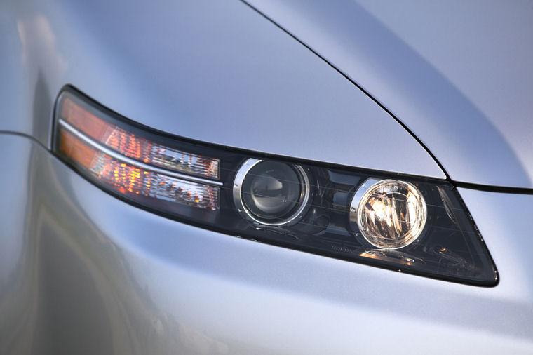 2007 Acura Tl Type S Headlight Picture