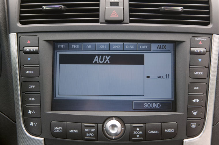 Acura TL TypeS Dashboard Screen Picture Pic Image - Acura tl dashboard