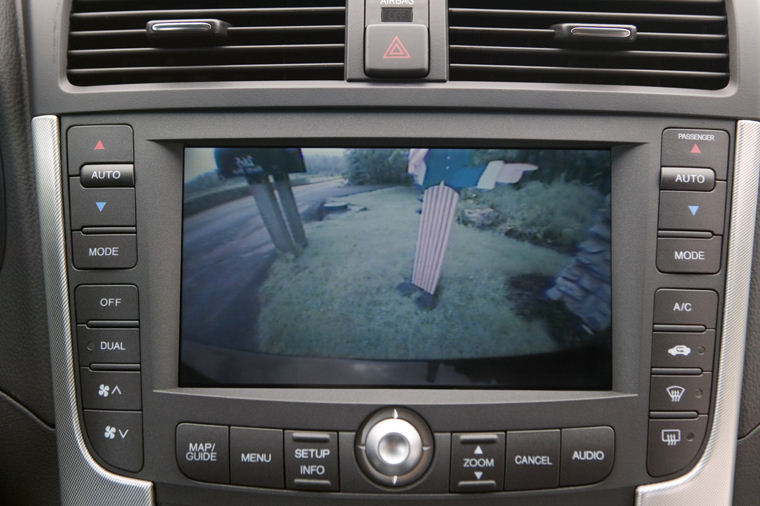 2007 Acura TL Type S Rear View Camera Picture