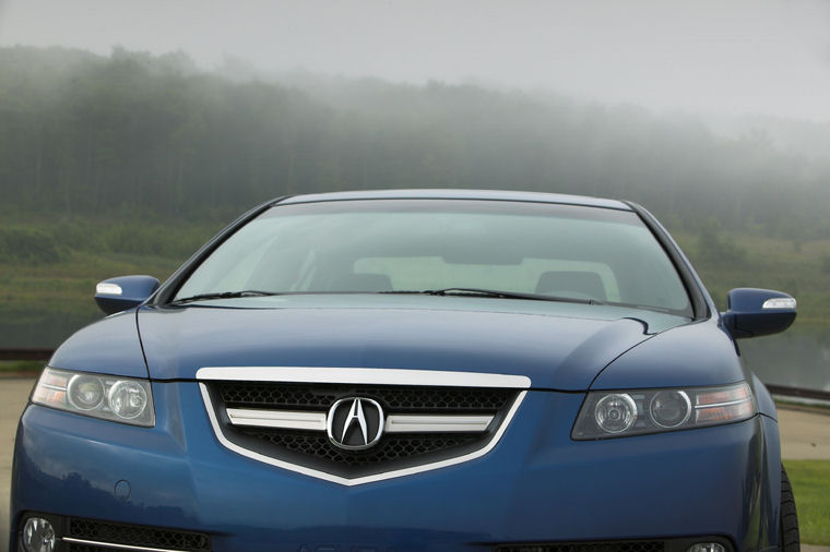 2007 Acura Tl Type S Headlights Picture