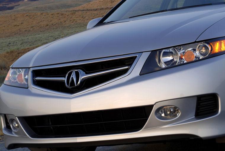 Acura TSX Headlight Picture Pic Image - 2006 acura tsx bumper