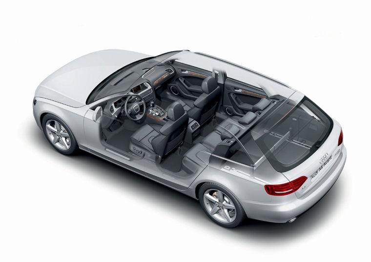 2009 Audi A4 Avant Wagon Interior Picture Pic Image