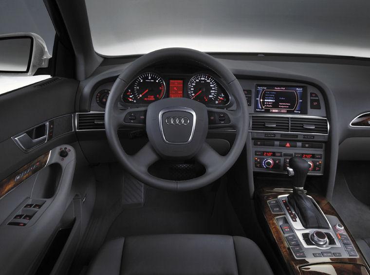 2006 Audi A6 Avant Cockpit Picture Pic Image