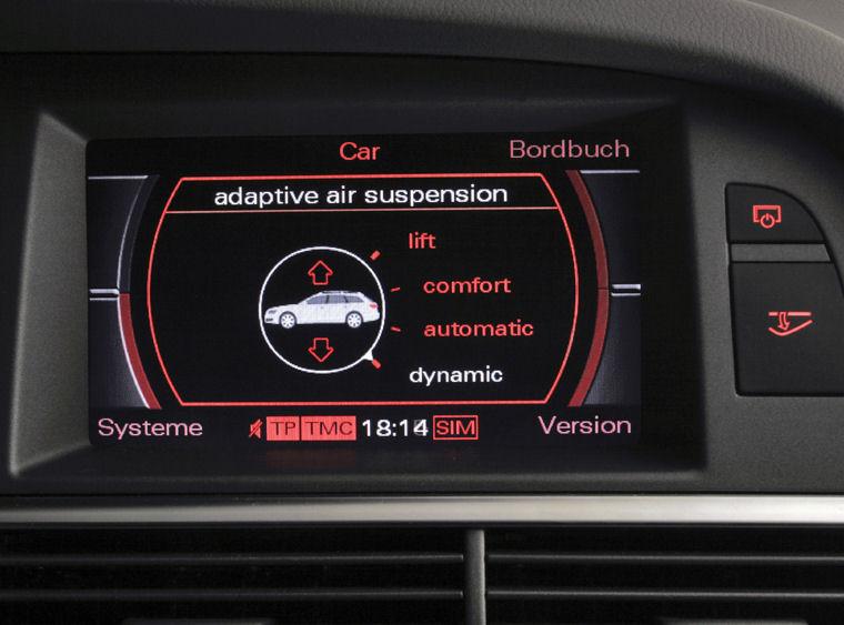 2008 Audi A6 Avant Dashboard Screen Picture Pic Image