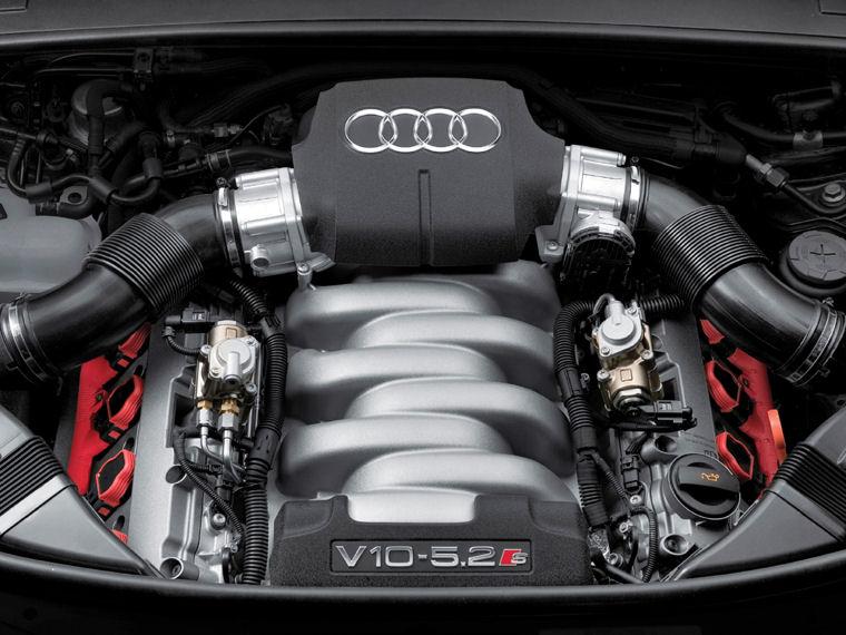 2008 Audi S6 52l V10 Engine Picture Pic Image