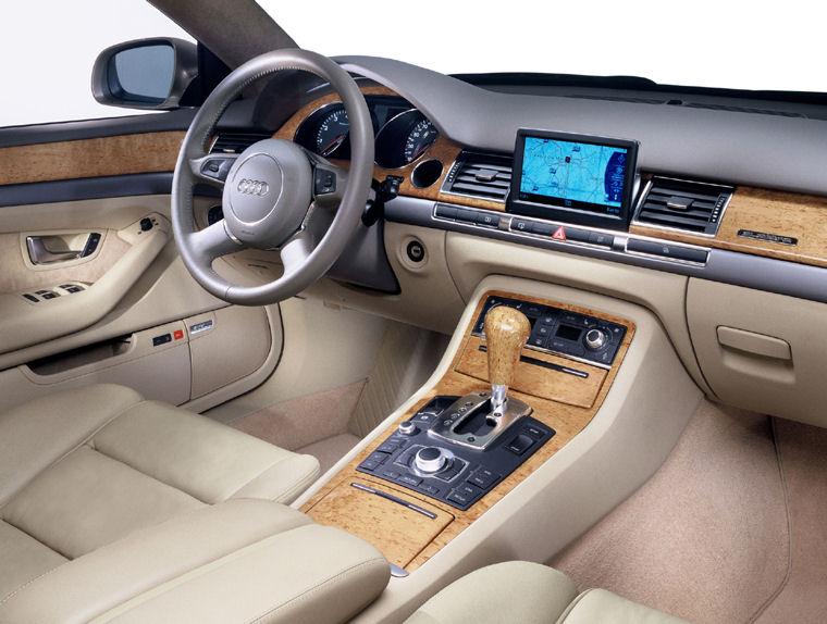 2004 Audi A8 Interior Picture Pic Image