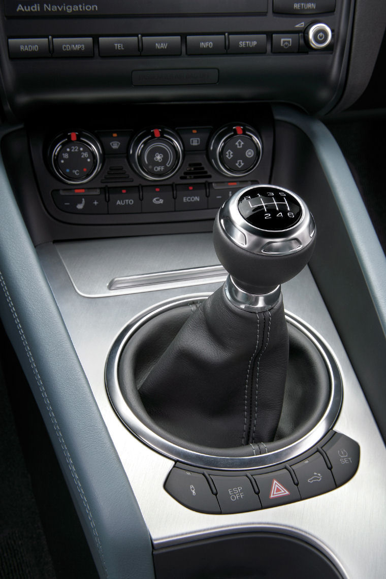 2010 Audi Tt Coupe Center Console Picture Pic Image