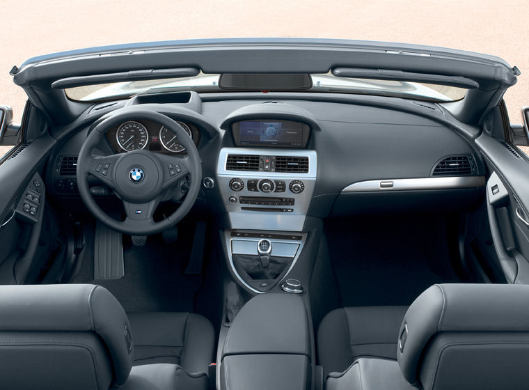 2008 Bmw 650i Convertible Interior Picture Pic Image