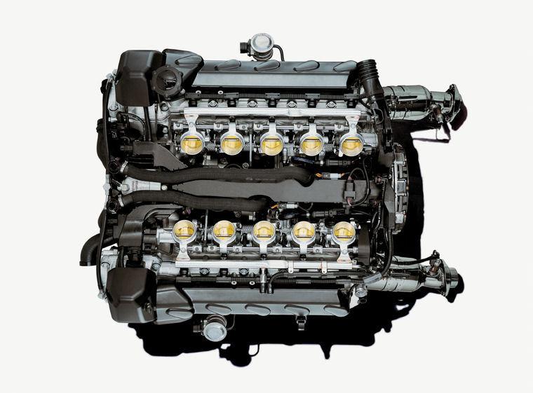 Bmw m6 V10 Engine 2009 Bmw m6 5.0l V10 Engine