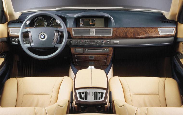 2002 BMW 745i Cockpit   Picture / Pic / Image