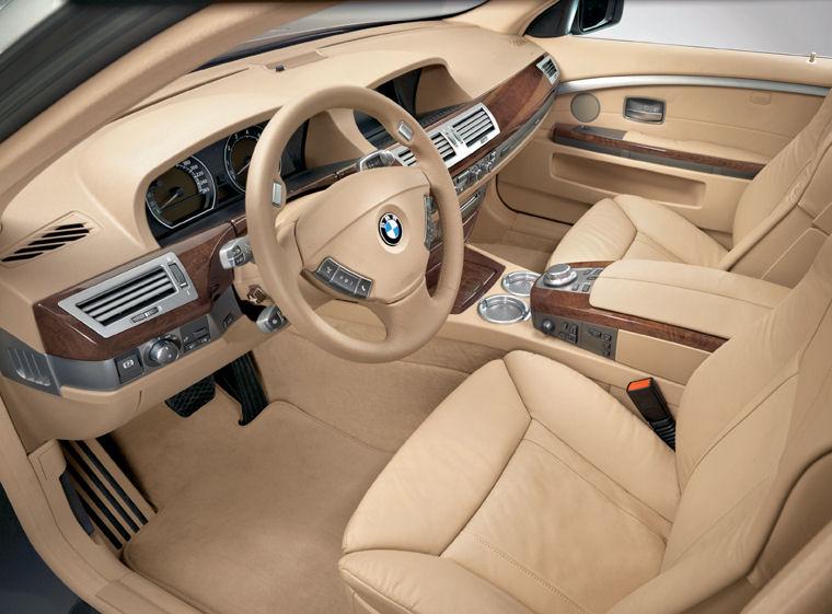 BMW Li Interior Picture Pic Image - 2008 bmw 750il
