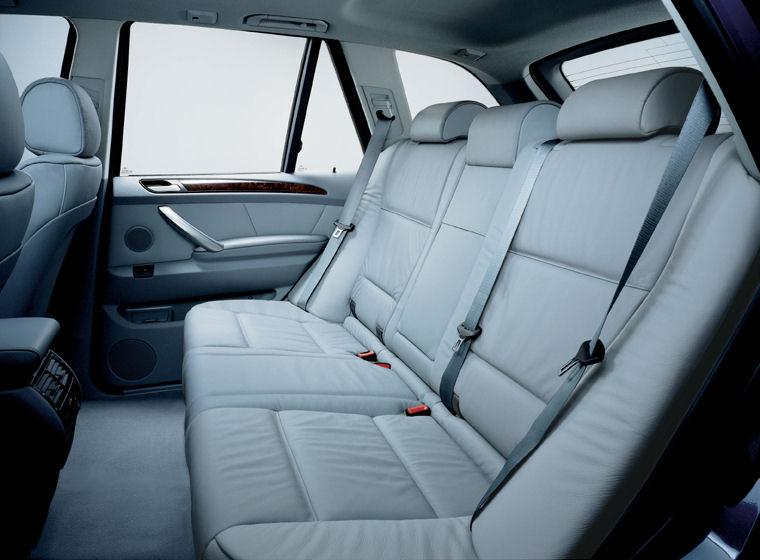 2003 bmw x5 rear seats picture pic image for Interieur de voiture en cuir