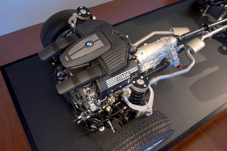 BMW Pickup Truck >> 2008 BMW X5 xDrive48i 4.8L V8 Drivetrain - Picture / Pic ...