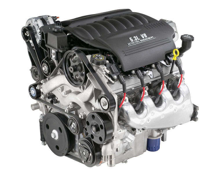 2008 buick lacrosse super 5.3l v8 engine - picture / pic / image