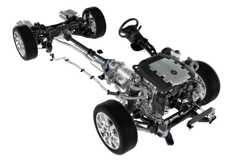 2009 Cadillac Cts Drivetrain Picture Pic Image
