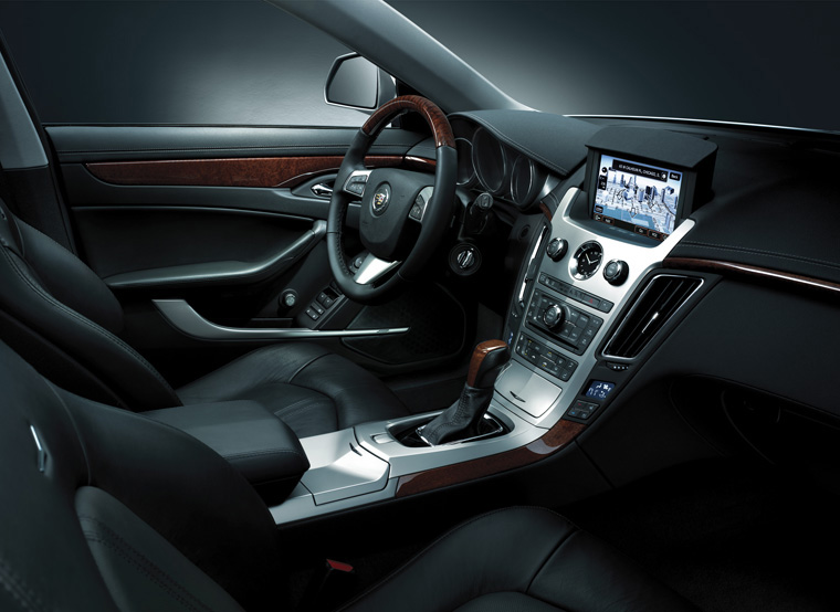 2001 Cadillac CTS Coupe Interior Picture