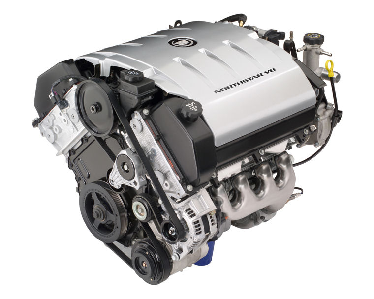 2008 Cadillac DTS LD8 4 6L V8 Northstar Engine Picture