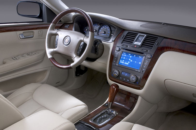 2009 Cadillac DTS Interior Picture Pic Image