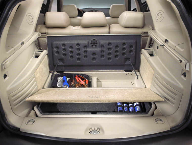 2004 Cadillac Srx Trunk Picture Pic Image
