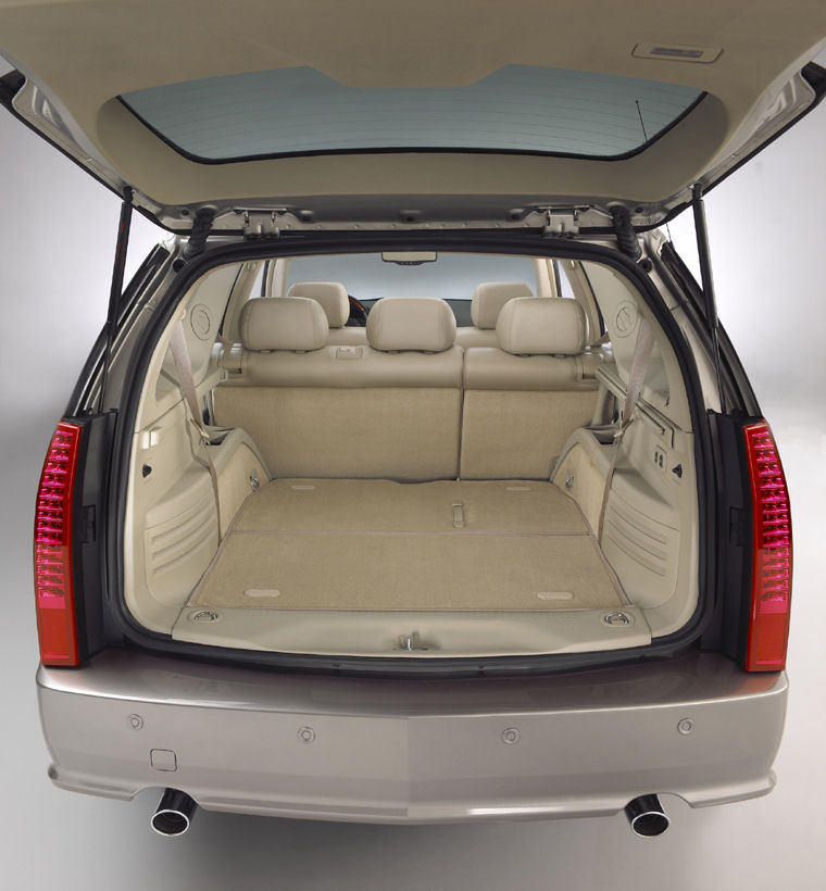 2008 Cadillac Srx Trunk Picture Pic Image