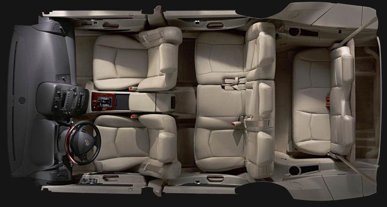 2009 Cadillac Srx Interior Picture Pic Image